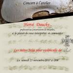 Concert à l'atelier_H. Douchy_11.17